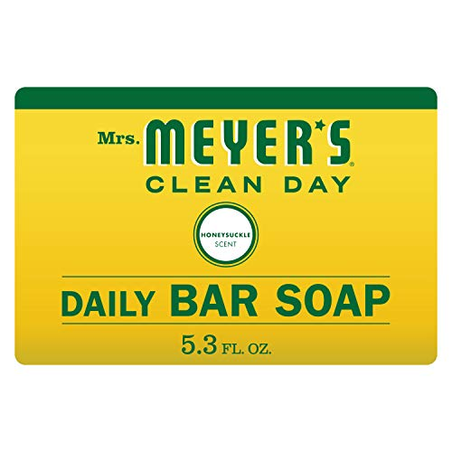 Mrs. Meyer's Bar Soap, Honeysuckle, 5.3 OZ Black Friday Deals 2019