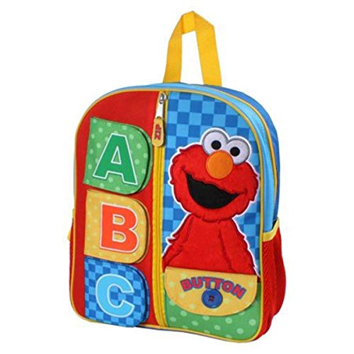 Sesame Street 12 inch Elmo Kids' Backpack Sings The ABC's]()