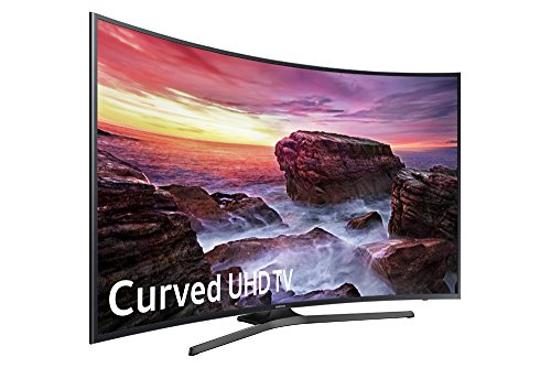 Samsung Electronics UN65MU6500 Curved 65-Inch 4K Ultra HD Smart LED TV (2017 Model)