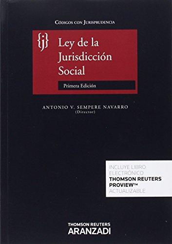 Descargar Libro Ley De La Jurisdicción Social Rodrig Antonio V. Sempere Navarro (director)