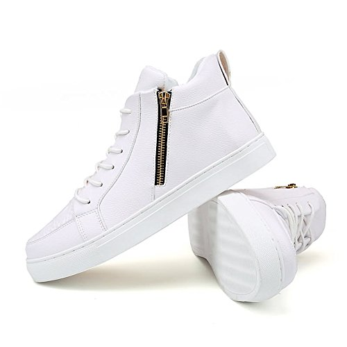 Homme Shufang Mode Blanc pour Baskets shoes IrqIY