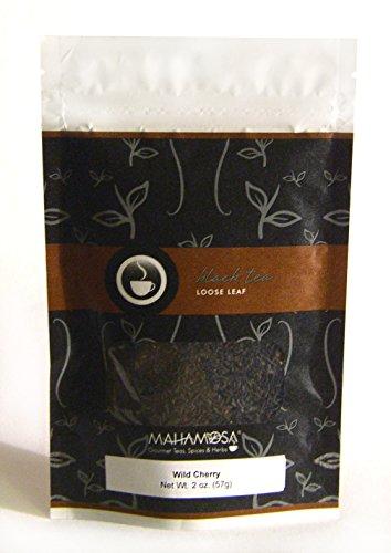 Wild Cherry Black Tea - Mahamosa Wild Cherry Tea 2 oz - Loose Leaf Flavored Black Tea Blend