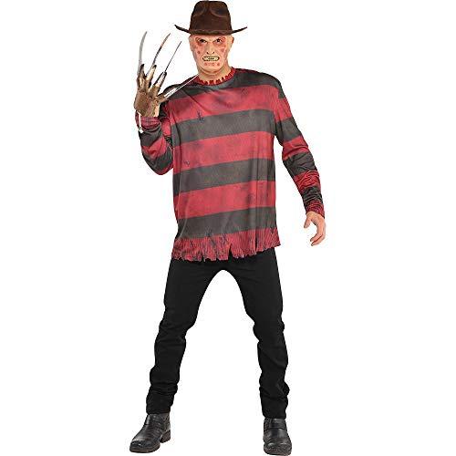 SUIT YOURSELF Freddy Krueger Halloween Costume for Men, A Nightmare on Elm Street, Standard - http://coolthings.us