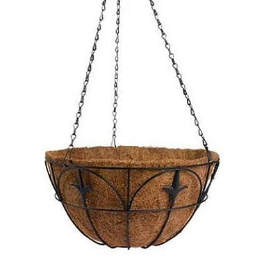 Panacea Classic Finial Hanging Basket, 14-Inch