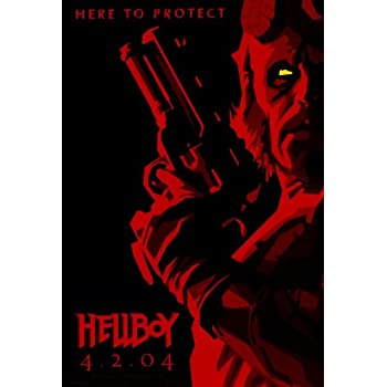 Amazon.com: Hellboy Poster Movie 27x40: Prints: Posters ...