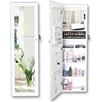 Full Length Jewelry Cabinet With Mirror