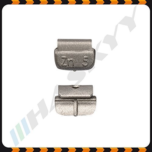 5 g x 100 Pesi di ictus Cerchi in acciaio Pesi equilibratura Pesi di equilibrio Pesi Haskyy
