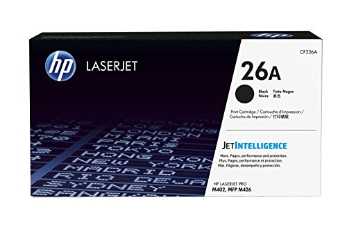 HP 26A (CF226A) Black Original Toner Cartridge for HP Laserjet Pro M402 M426