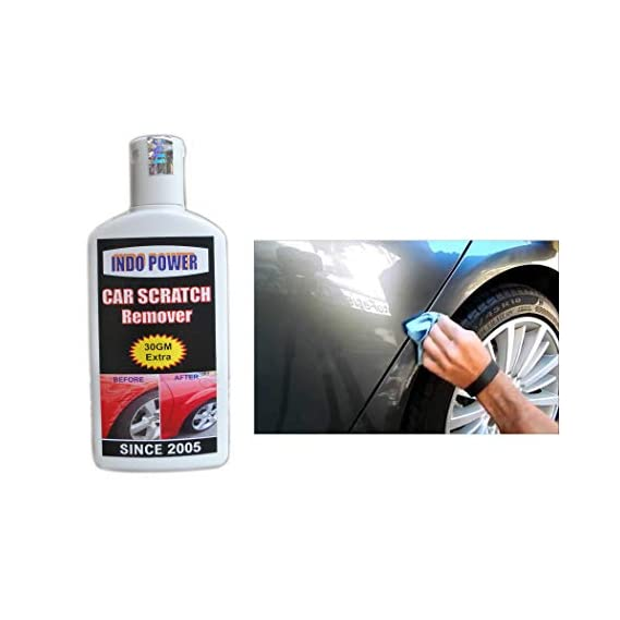 INDOPOWER AA10 CAR Scratch Remover 100gm. All Colour Car & Bike Scratch Remover (Not for Dent & Deep Scratches).