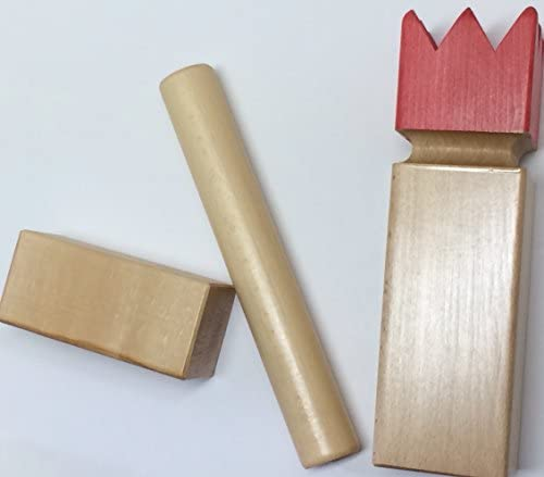 Kubb Game Official US Championship Premium Lacquer Finish by  Kubbspel Classic