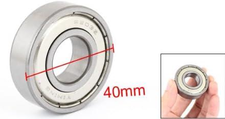 6203z Miniature Radial Rillenkugellager 17 Mm X 40 Mm X 12 Mm De Baumarkt