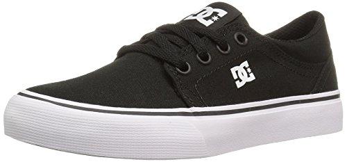 DC - Zapatillas para niño negro/blanco
