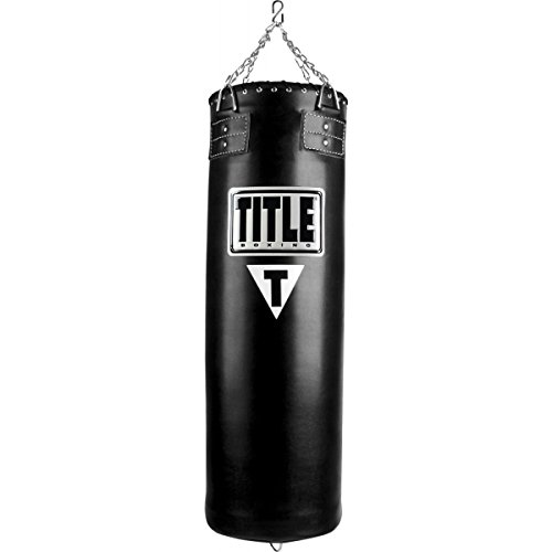 TITLE Synthetic Leather Heavy Bag, 100 lbs (Bag Synthetic Heavy Leather)