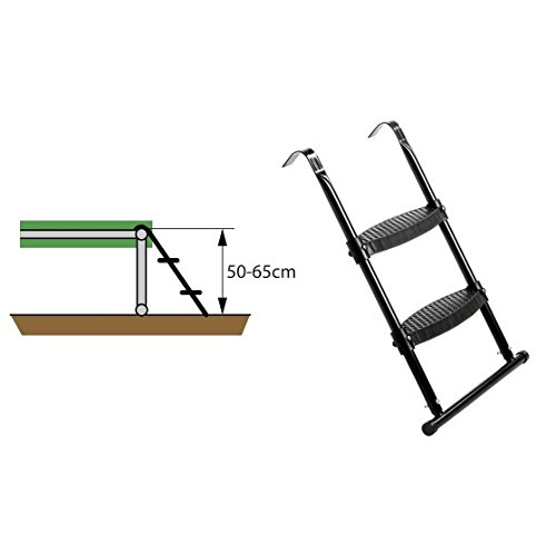 Exit Trampolin Leiter für Rahmenhöhe von 50-65 cm EXIT Toys