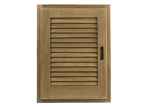 Whitecap 60725 Teak Louvered Door and Frame - 15