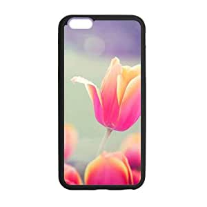 """Tulips Floral Flowers Lilac Pink Red Girly Case for Iphone 6 Plus 5.5"""""""