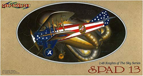 (Dragon Models 1/48 Spad 13 - Knights of the Sky Collection Airplane Model Building Kit)