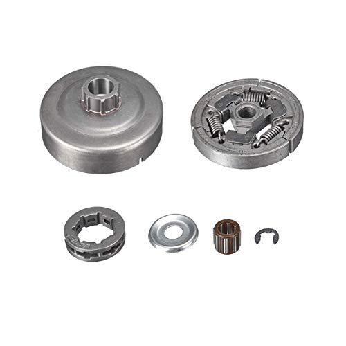 Swess 3/8''-7T Clutch Drum Rim Sprocket Bearing Kit for Stihl 036 MS360 Chainsaw Stihl Chainsaw Clutch MS360 MS361 MS440 MS460 036 044 046 TS400 - 046 Clutch