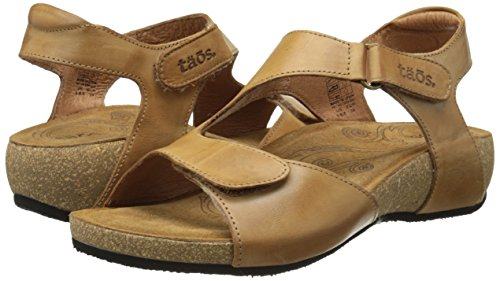 Taos Women's Rita Wedge Sandal, Tan, 41 EU/10-10.5 M US by Taos (Image #6)
