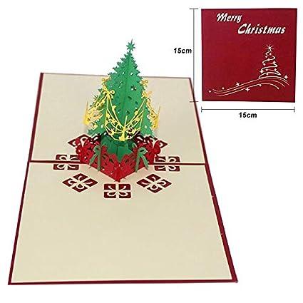 Tarjetas De Felicitación De Navidad De Seedworld Tarjetas E