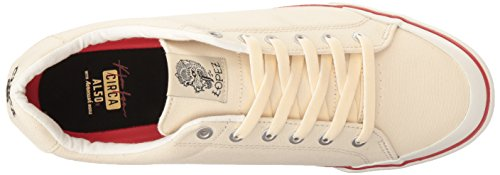 C1RCA Mens AL50R Adrian Lopez Durable Cushion Sole Skate Skateboarding Shoe Off White h75CsXtHE