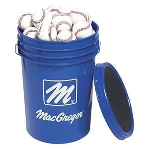 MacGregor Bucket/5 Dozen 79P Baseballs