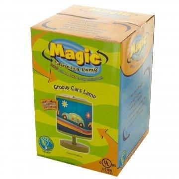 Spinning Magic Lamp (Magic Spinning Lamp - Groovy Cars Lamp)