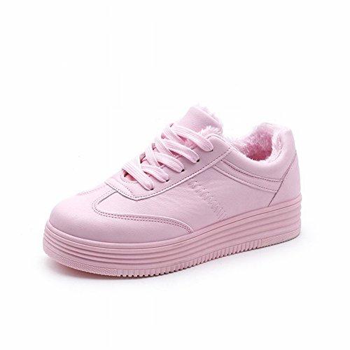 Estudiantes Femeninos Más Zapatos de Cachemira Zapatos de Mujer Zapatos Zapatos Deportivos de Ocio , rosado , EUR 35.5