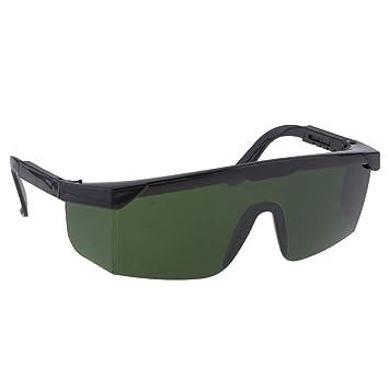 B Blesiya Soldadura Gafas de Seguridad Protección Ojos Suministros de Cortacésped Decoración Jardín - Verde oscuro