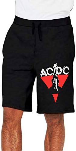 ACDC エーシー・ディーシー ハーフパンツ ショートパンツ フィットネス スポーツ ランニング 吸汗速乾 ズボン カジュアル メンズ