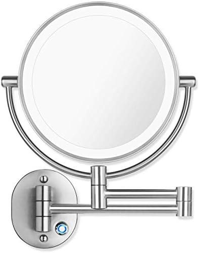 Pansonite LED Wall Mount Makeup Mirror