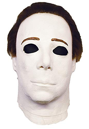 Halloween 4 Replica Mask (Trick Or Treat Studios Michael Myers Mask - Halloween 4, Halloween Costumes Accessory, for Adults, One)