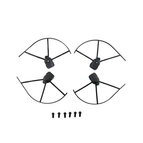 bescita 4pcs hélice de nouvelles de remplacement Coque Accessoires pour jjrc H37RC Quadcopter