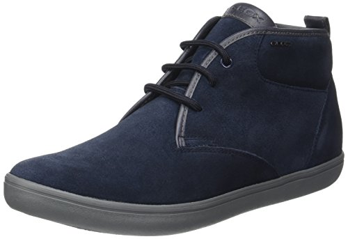 Geox Men's U Box H High Sneaker Blue (Navy)