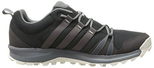 Chaussure De Course Adidas Femmes Extérieures Tracerocker Piste Gris Noir / Vista / Utilitaire Noir
