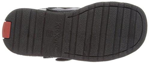 Kickers - Chaussures Pour Garçons Fermeture Velcro Noir