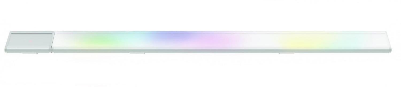 2-Pack iDual LED-Linienlampe Udo mit Fernbedienung. Warmweiß bis Kaltweiß; Dimmfunktionen; MultiFarbe-Umgebungs- und Stimmungslicht. 520 lm .