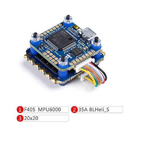 iFlight SucceX-E 2-6S Mini Flight Stack F4 Flight Controller MPU6000 + 4 in 1 35A ESC BLHeli_S for FPV Racing Drone Quadcopter