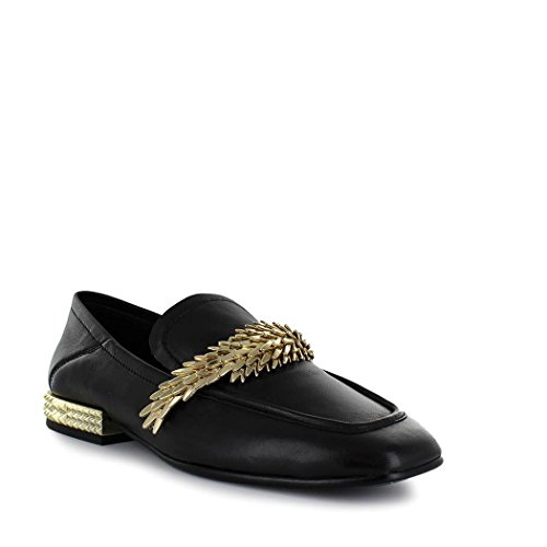 Ash Summer Shoes Women's Spring Edgy 2018 Black Loafer rSrFxq