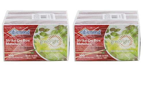 Diamond Strike On Box Greenlight Matches (6)
