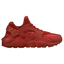 Nike Air Huarache (Wolf Grey/Laser Crimson-Black-Blue)