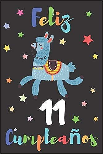 Feliz 11 Cumpleaños: Regalo para Niños o Niñas de 11 Años ...