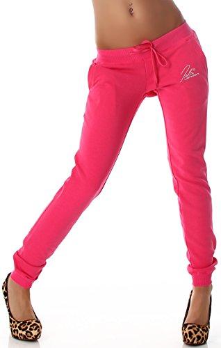 Jela London - Pantalón deportivo - relaxed - Básico - para mujer rosa 36