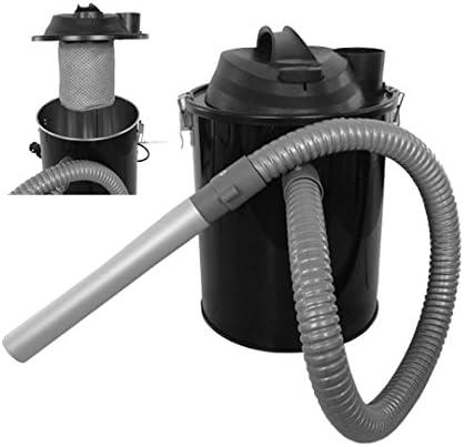 Aspiracenere para estufas de pellets 800 W con Lancia Y Tubo De Aluminio: Amazon.es: Hogar