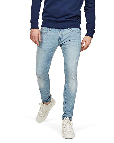 Uomo Jeans G star Blue Raw qwtZBZnF0