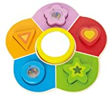 Hape Kid's Shape Sorting Learning Toddler Wooden Puzzle