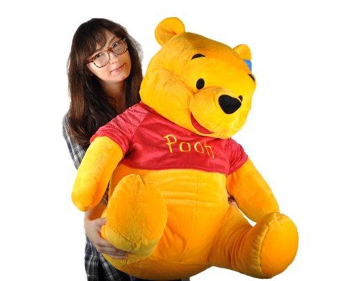 4c7c2ddd3d53 Amazon.com  New Giant Big Size 35inch 90cm Winnie the Pooh Bear Plush Toy   Toys   Games