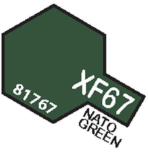 XF67 MIN Nato Green - 10ml jar of Tamiya Color Mini Acrylic Paint