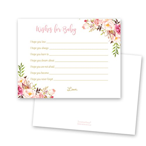 48 cnt Watercolor Roses Baby Wish -