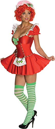 Blueberry Muffin Adult Costume (Secret Wishes Womens Strawberry Shortcake Costume, Strawberry, Large)